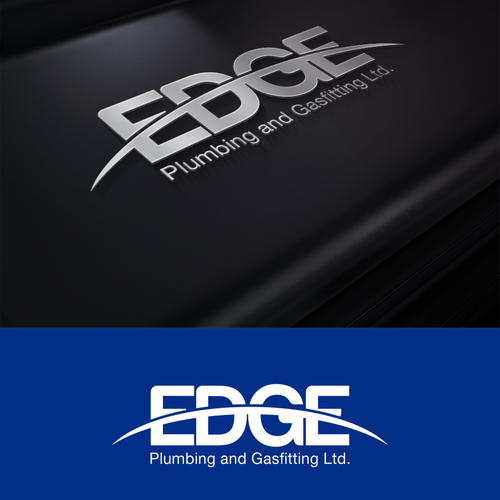 Create the next logo for Edge Plumbing and Gasfitting Ltd.