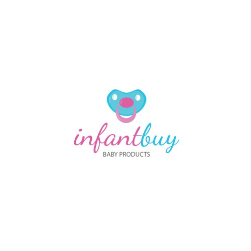Logo for baby shop