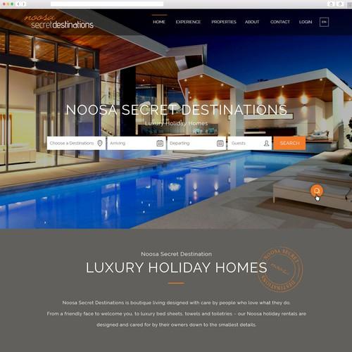 Luxury Accomodation Website