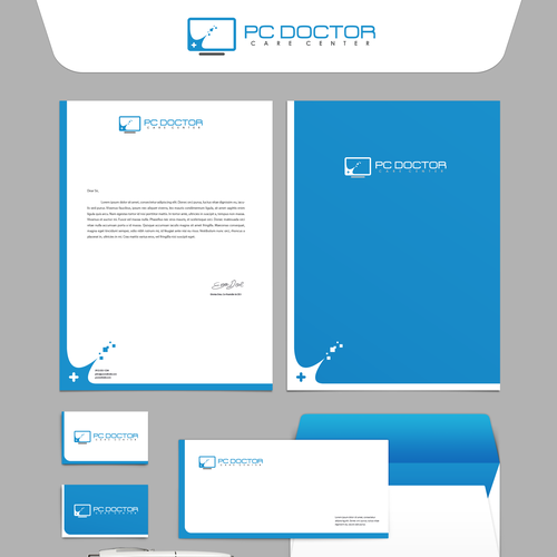 PC Doctor Brand Identity (unused)