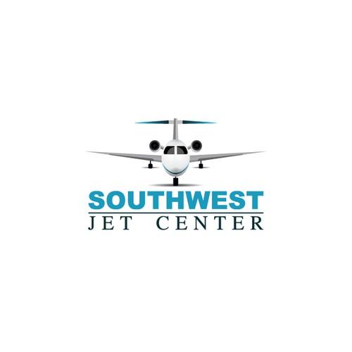 Logo design for Southwest Jet Center