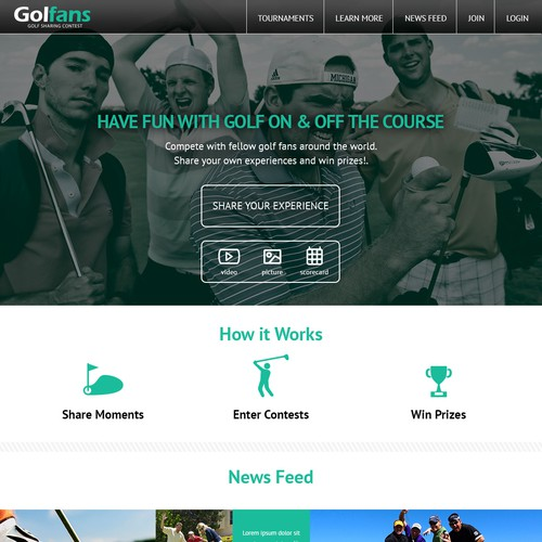 Golfans Website