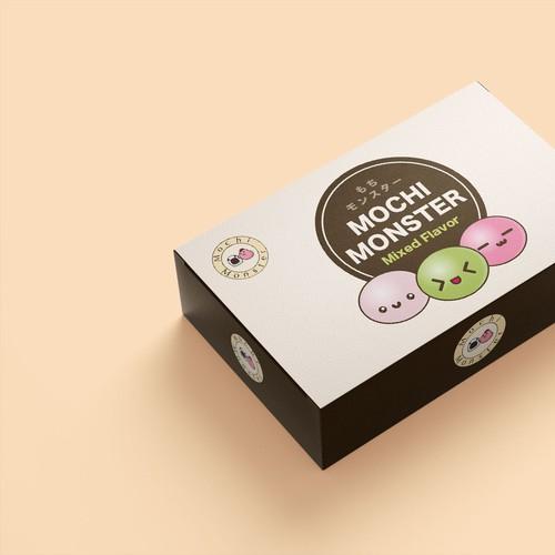 Mochi Japanese Dessert Packaging