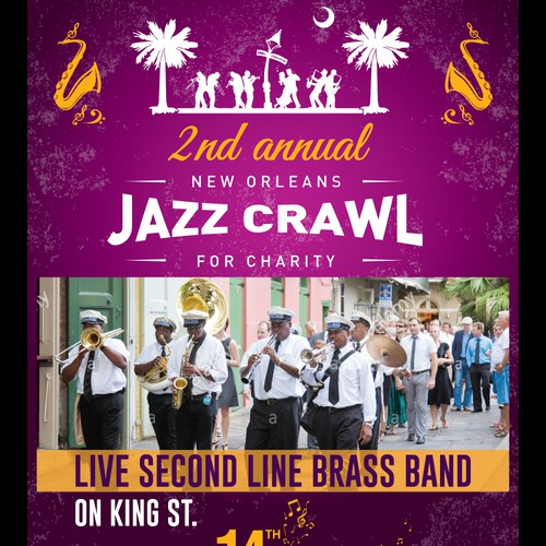 New Orleans JAZZ Crawl for Charity