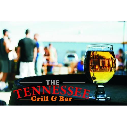 The Tennessee Grill & Bar needs an eye catching t-shirt logo