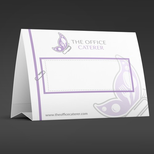 Tent Card Design