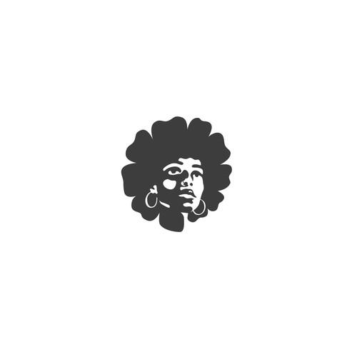 Flower face logo