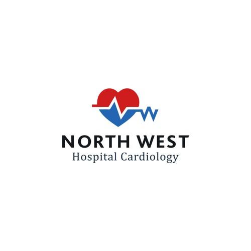 Winning logo for North West Hospital