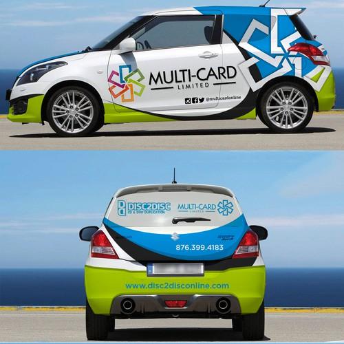 Full wrap for Suzuki Swift