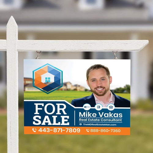 Mike Vakas For Sale Signage