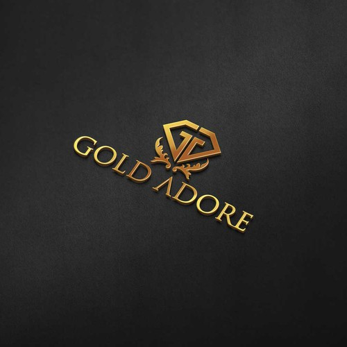 luxury logo for Gold Adore