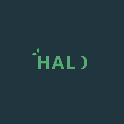 Simple text logo