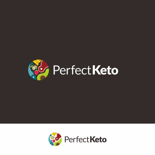 Logo For Keto Diet Food Business