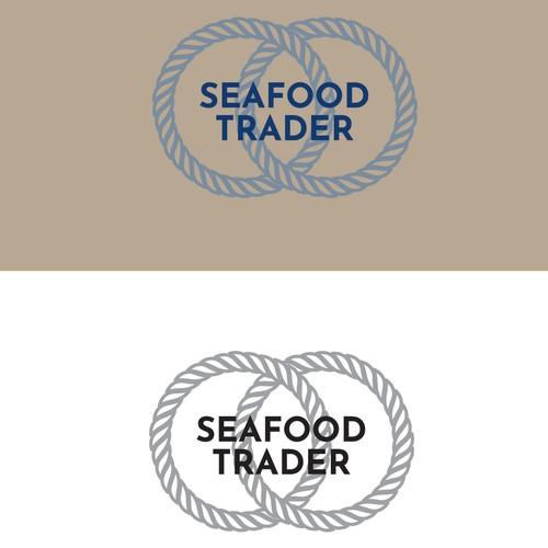 Nautical themed logo for a seafood distributor