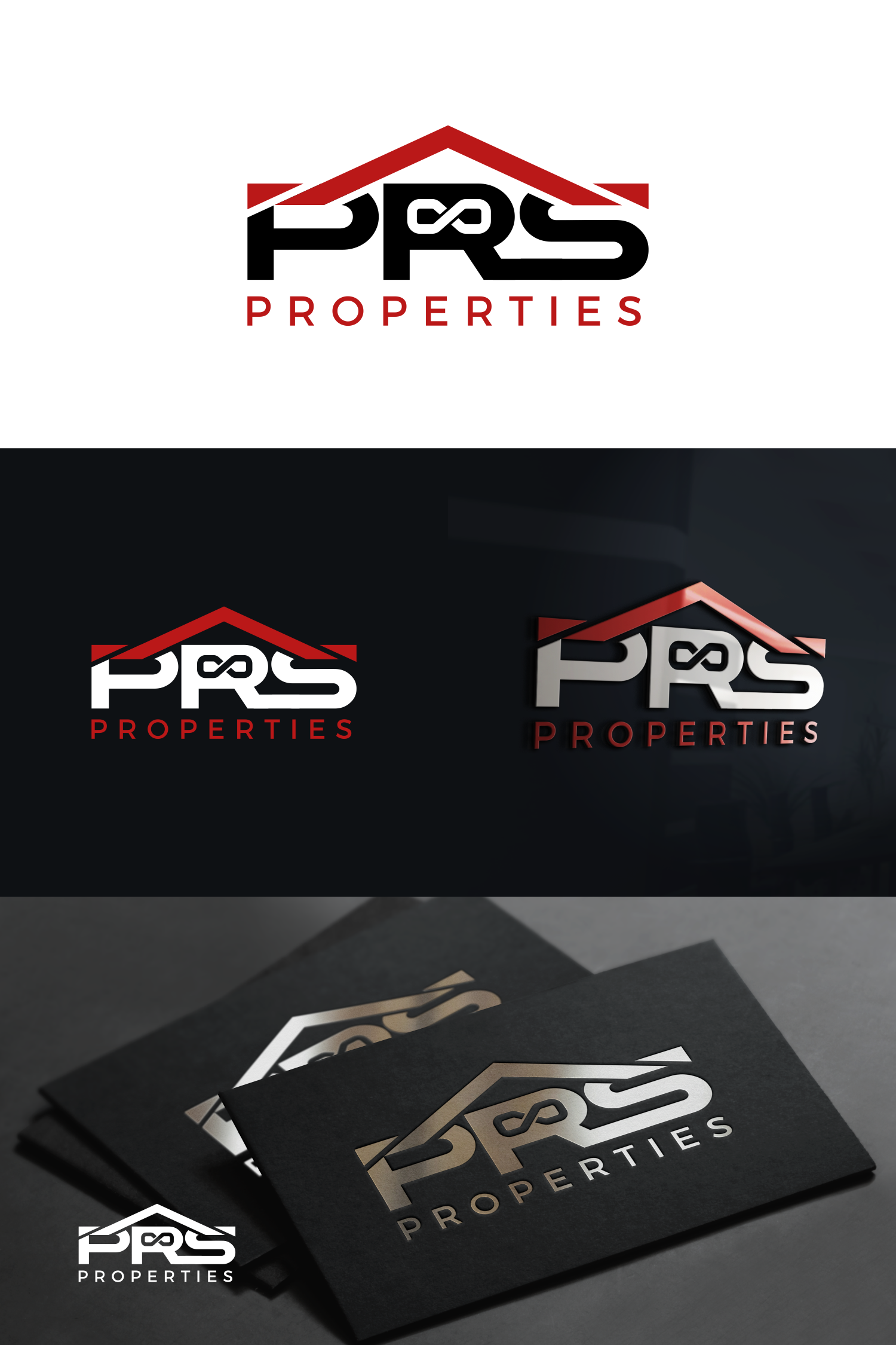Modern & Simplistic Logo for a Real Estate side business looking to achieve Infinite Returns