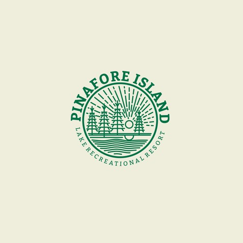 logo is for a lake recreational property