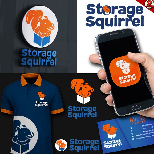 Storage Squirrel Logo