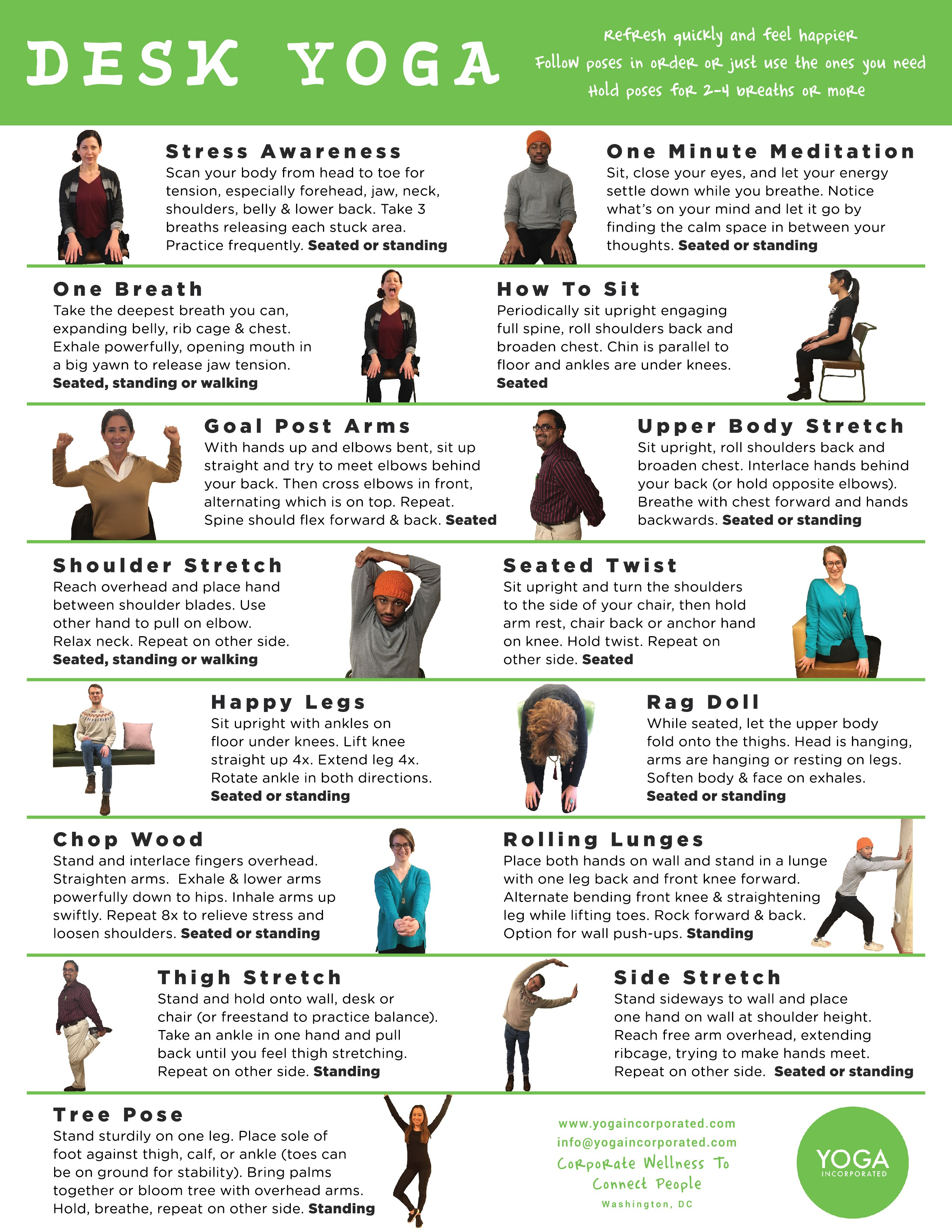 Yoga Pose Pictures