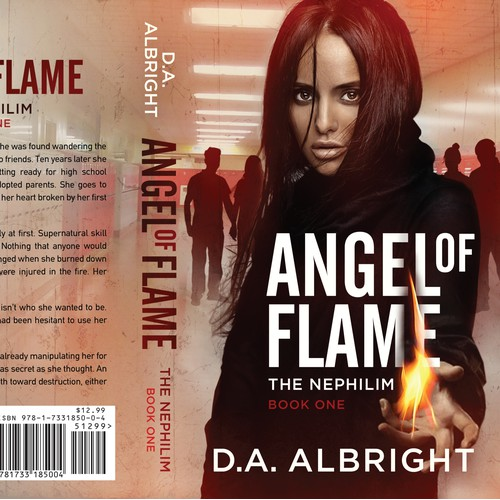 Angel of Flame - YA Contemporary Fantasy