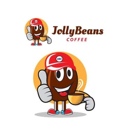 Logo for mobile coffee company that sells coffee from around the World.