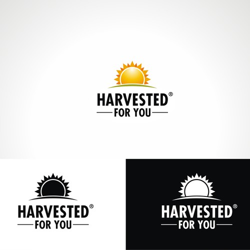 Re-Design Brand Logo For Harvested For You Snacks and Foods