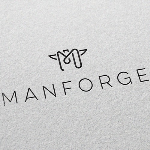 Logo for men's fashion company Manforge