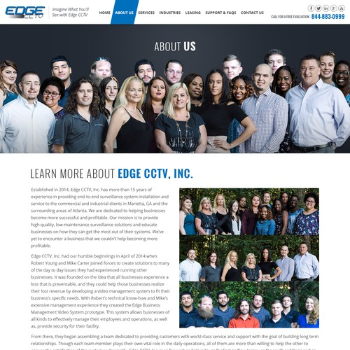 A Inner Page Of  Edge CCTV Project