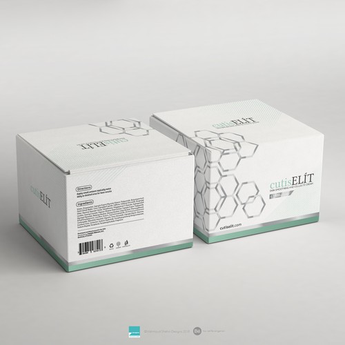 High End Skin Care Packaging