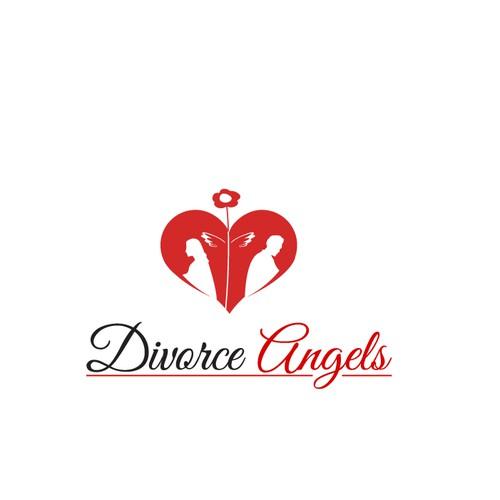 Divorce Angels Logo concept