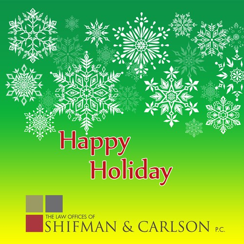 Holiday Cards for Law Firm