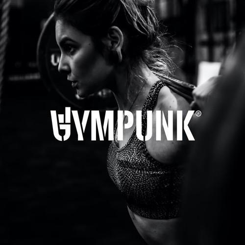 Bold wordmark for GYMPUNK.