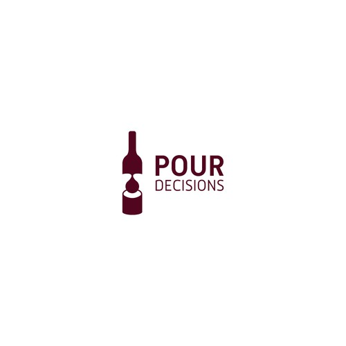 Pour Decisions, wine logo