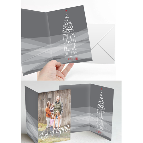 Create a Beautiful Holiday Card Template - Merry Christmas!