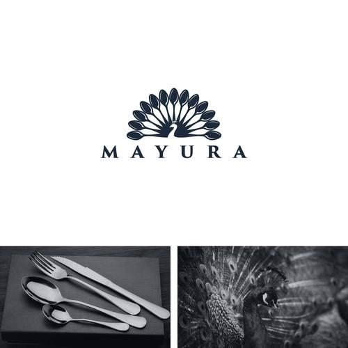 logo concept for Mayura
