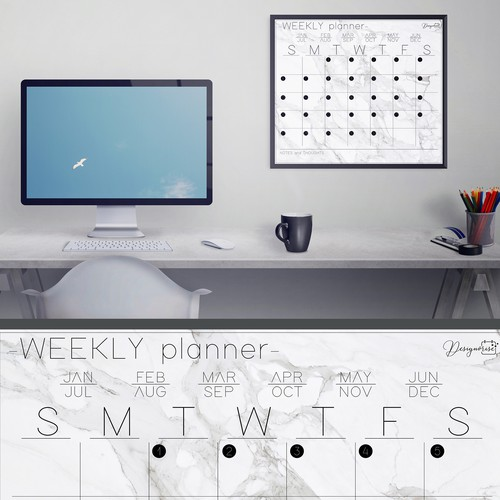 Weekly planner design contest