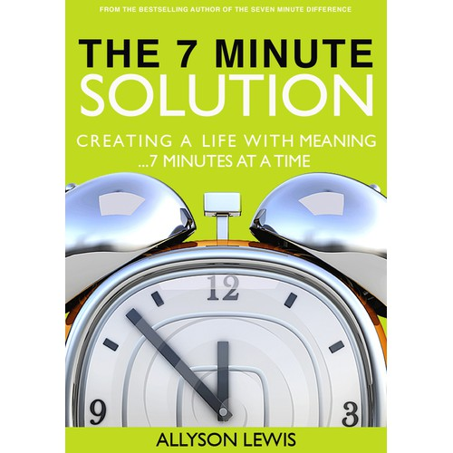 BOLD Ideas wanted: BOOK COVER for The 7 Minute Solution