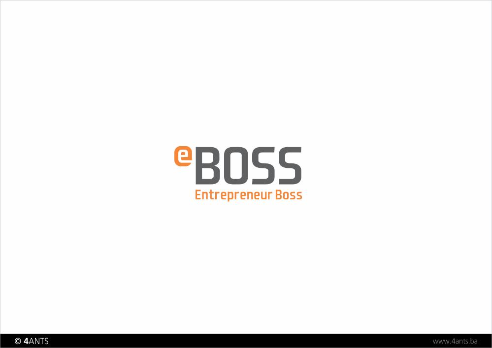 Make Entrepreneur Boss a Cool Logo
