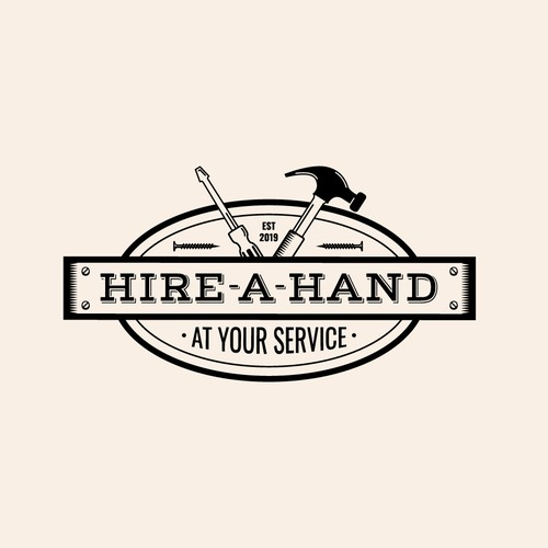 Logo for Hire A Hand