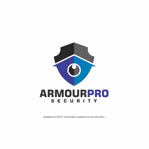 ARMOUR PRO SECURITY LOGO