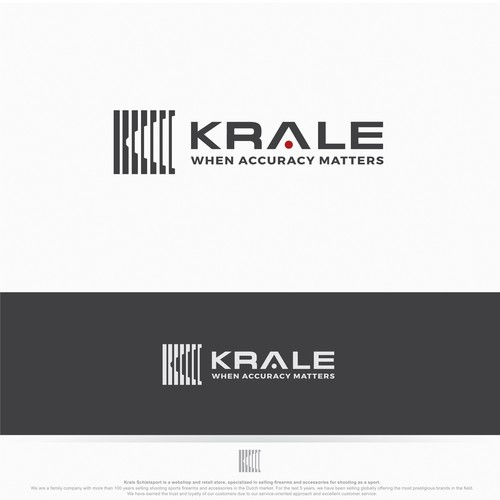 New Modern logo for Krale (Shooting sport, Hunting & Outdoor, Airsoft)
