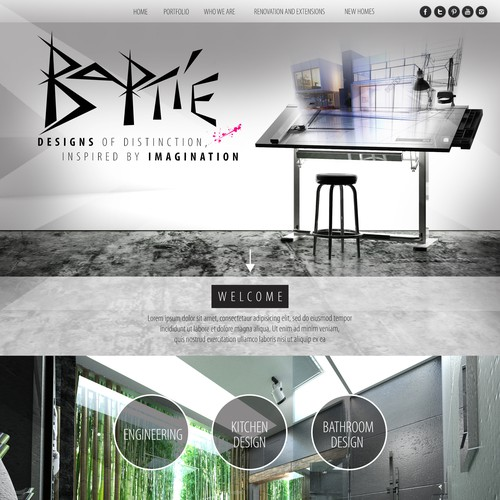 Website For Architectural Design Company