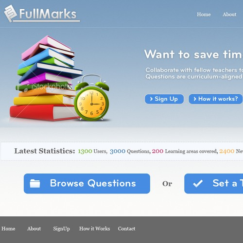 Make teaching fun with FullMarks!
