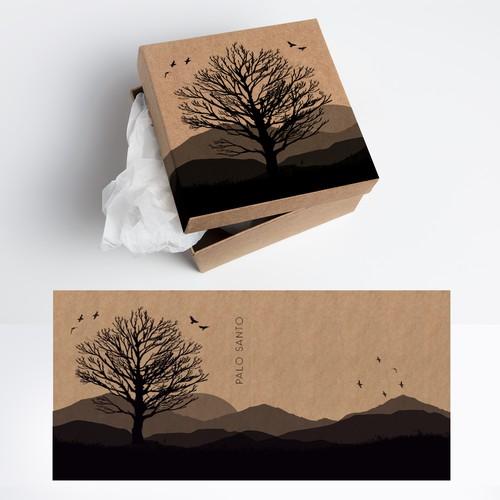 packaging box palo santo