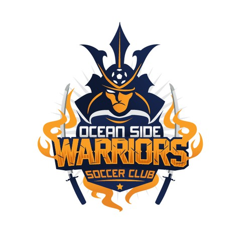 Boys Soccer Team looking for great logo for t-shirts-Oceanside Warriors