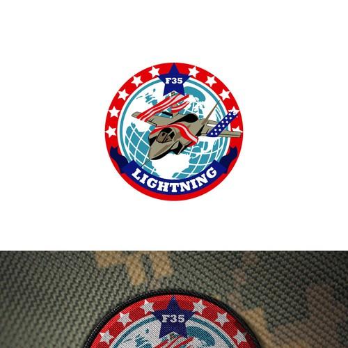 Patriotic Logo Concept