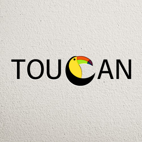 Bold, simple Toucan