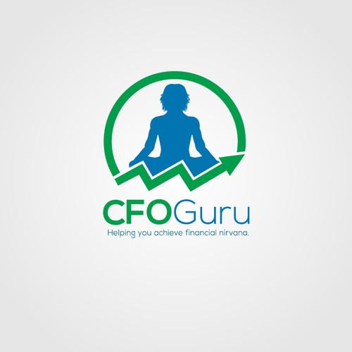Logo design for cool and funky Finance and Accounting outsourcing company - CFOGuru