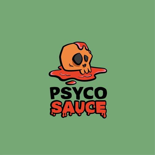 Logo concept for Psyco Sauce