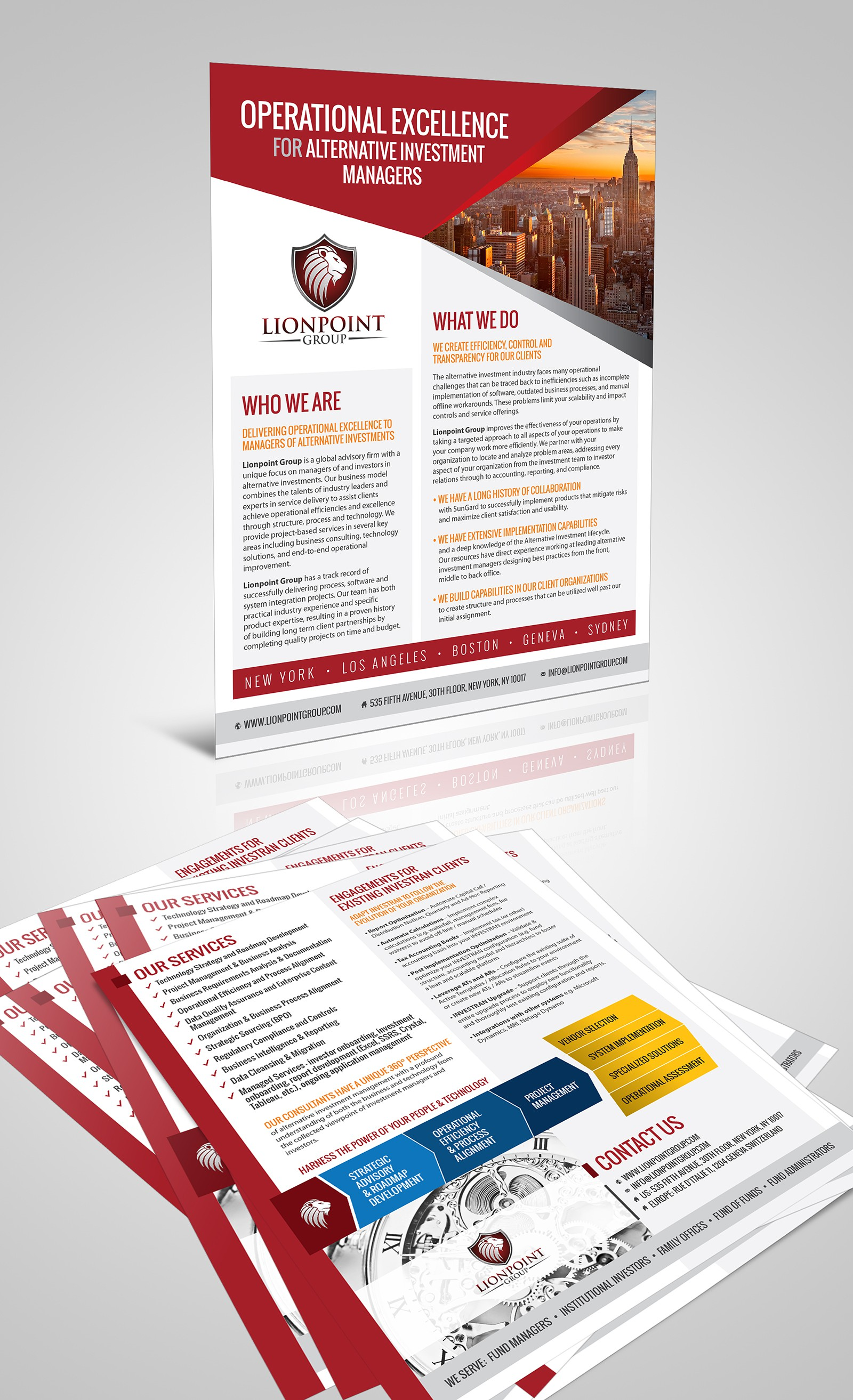 Start Up Consulting Firm Needs Captivating Trade Show Booth Flier!