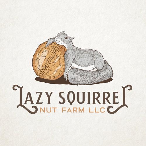Logo for Lazy Squirrel Nut Farm LLC